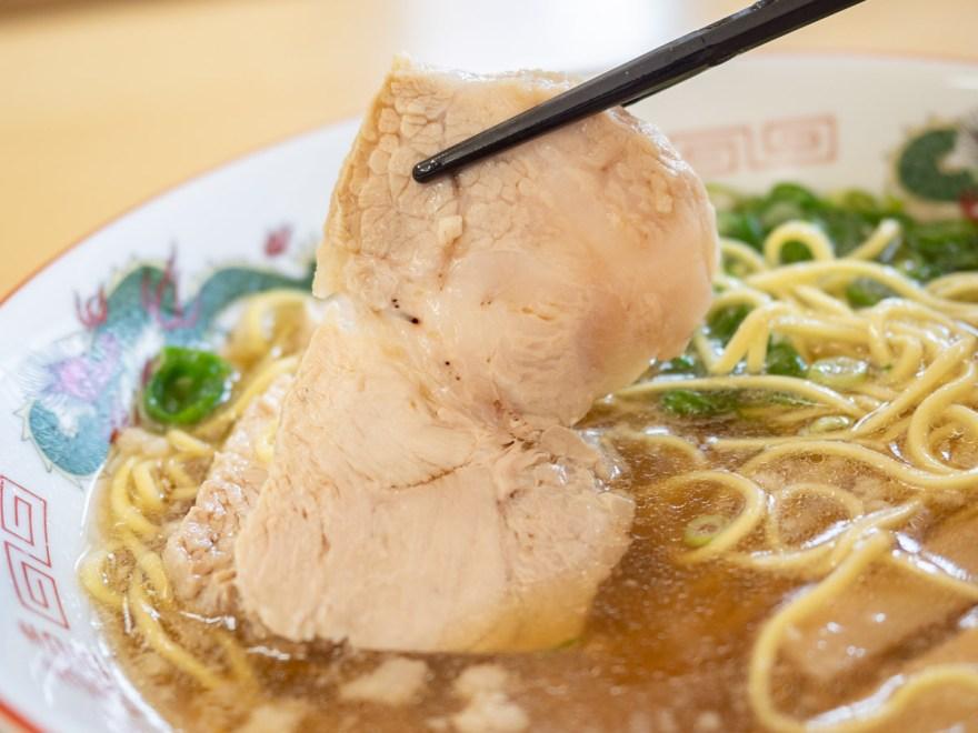 万ぷく食堂:万ぷく定食の中華そば(ラーメン)