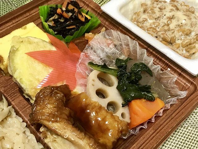 20180821_ローソン_舞茸ご飯の幕の内弁当_04