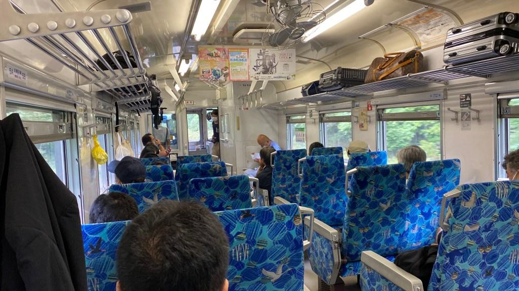 釧路から根室までは花咲線で3時間 〜車両自体は釧網本線と同じ〜