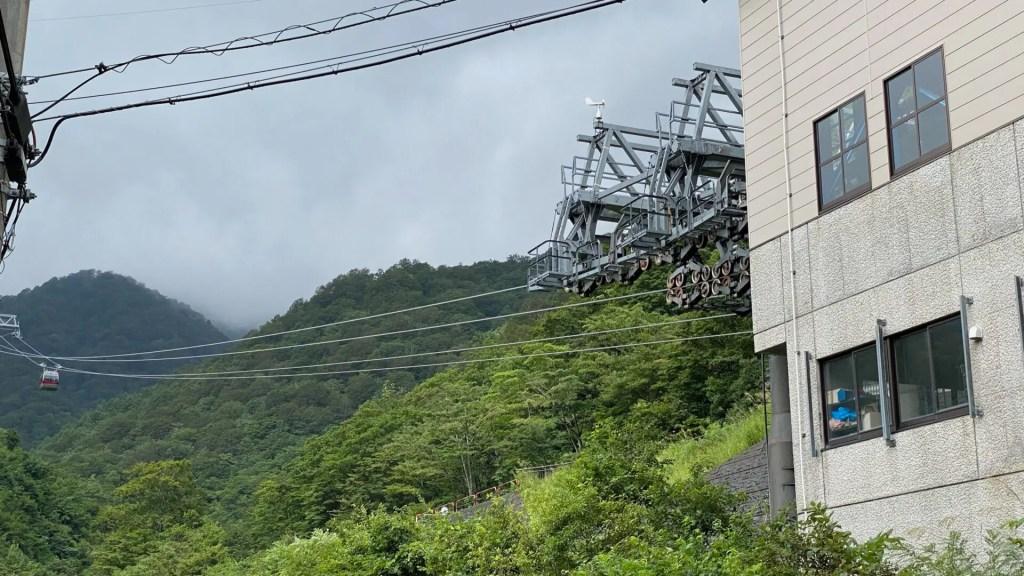 一ノ倉沢へは、土合駅から徒歩1時間30分程度・バスもある