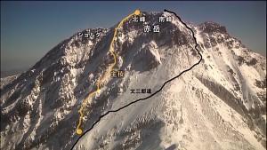 赤岳主稜3