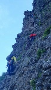 練習生登攀