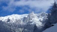 大同心雪景色