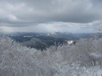 ⑤頂上からの風景