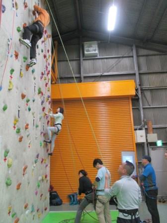 ビレイが安定すれば、どんどん登るチャンスも増える。そして何度もビレイできる。