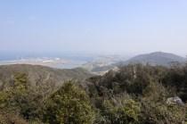 衣笠山頂上の眺め