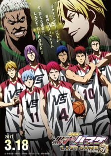Kuroko no Basket Movie 4 Last Game Sub Indo BD