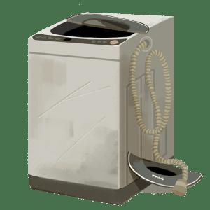 壊れた洗濯機茨城県の不用品回収