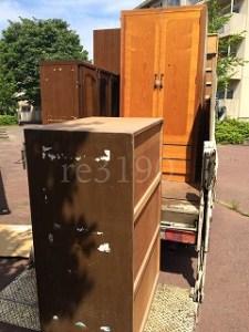 水戸市でタンスや家具の処分、回収