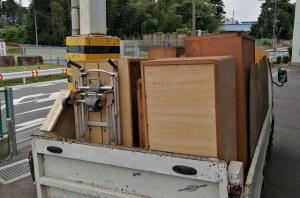 水戸、ひたちなかの不用品回収、トラック積み放題