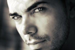 black-and-white-man-person-eyes-large