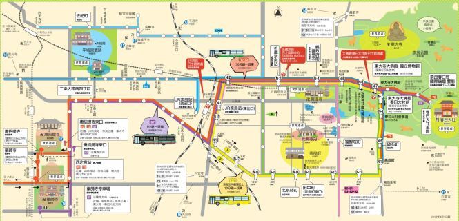 奈良市觀光圖