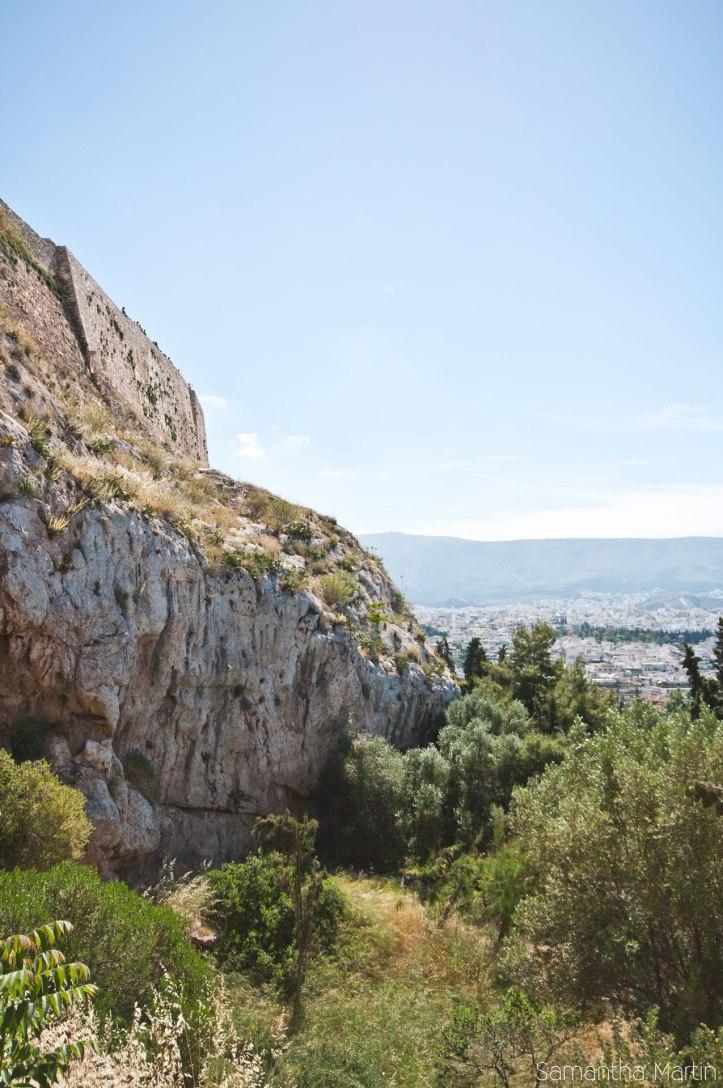 Acropolis mountain