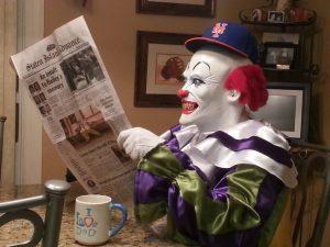 Staten Island Clown Lets Go Mets