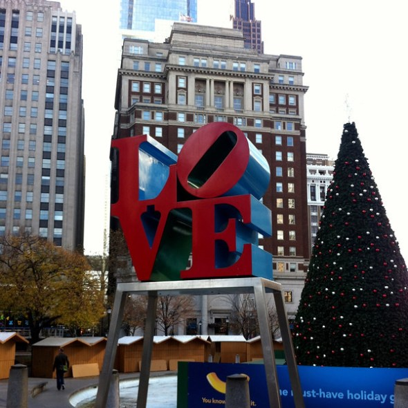 LOVE sculpture Philly