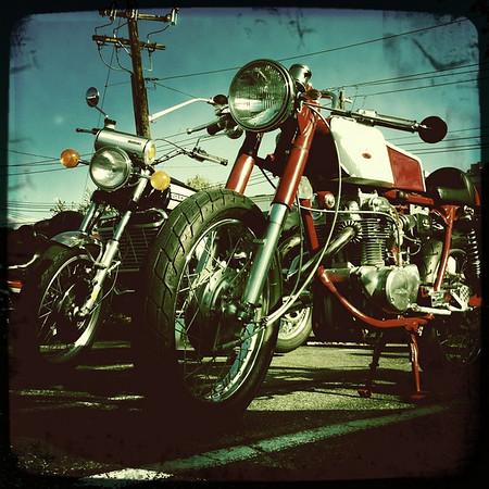1968 Honda CL 350 Cafe Racer
