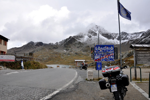The Gavia Pass Italy