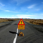 Iceland Impassable Sign Fuzzygalore Girlie Motorcycle Blog