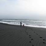 Black Sand Beach Iceland Fuzzygalore Girlie Motorcycle Blog