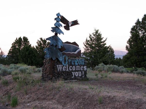 We make it to Oregon!