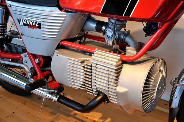 1974 Hercules W2000 Rotary Engine Motorcycle Barber Museum