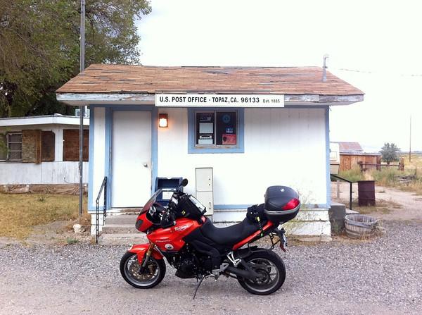 Tiny Topaz California Post Office