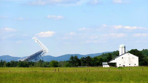 Green Bank Telescope Farm