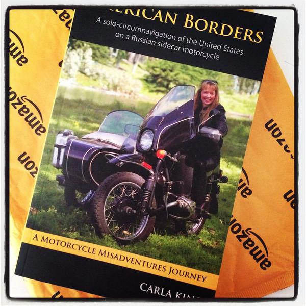 Carla King American Borders Book