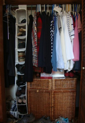 The other rack is in the back of the closet.