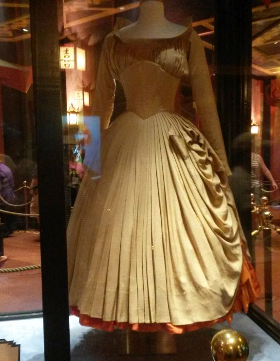 4f06fd211c4 This dress was worn by Cyd Charisse in Brigadoon. There was also a costume  worn by Katherine Hepburn