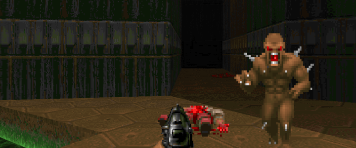 Doom on the Steam Link
