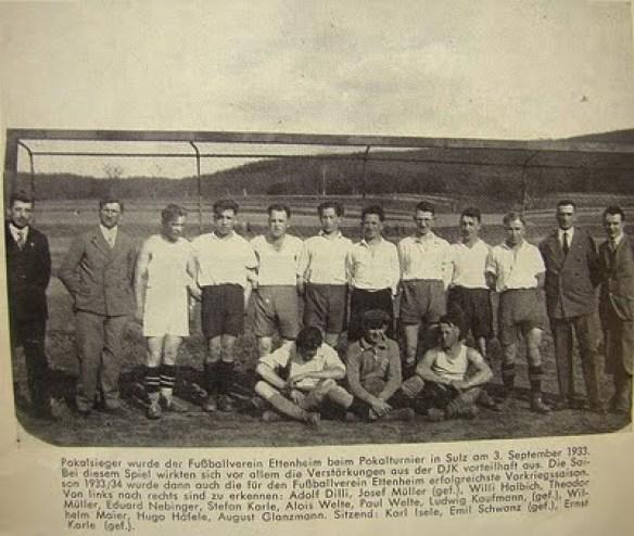Pokalsieg 1933