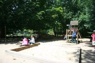 Kleinkindspielplatz an der Vereinsgaststätte