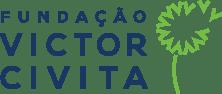 A logomarca da Fundação Victor Civita, ativa entre 2015 e 2019, sugeria a disseminação e a propagação do conhecimento