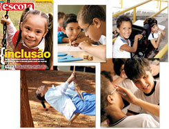 Cover and special reports on inclusion of students with disabilities, released in 2006