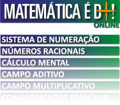 Alguns cursos online do programa Matemática é D+!