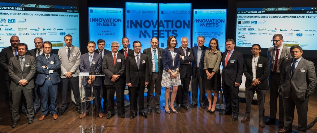 Picture of speakers at VI Innovation Meet, 29 June 2017, Casamerica, Madrid