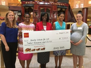 Family Values For Life | Donation | Wells Fargo