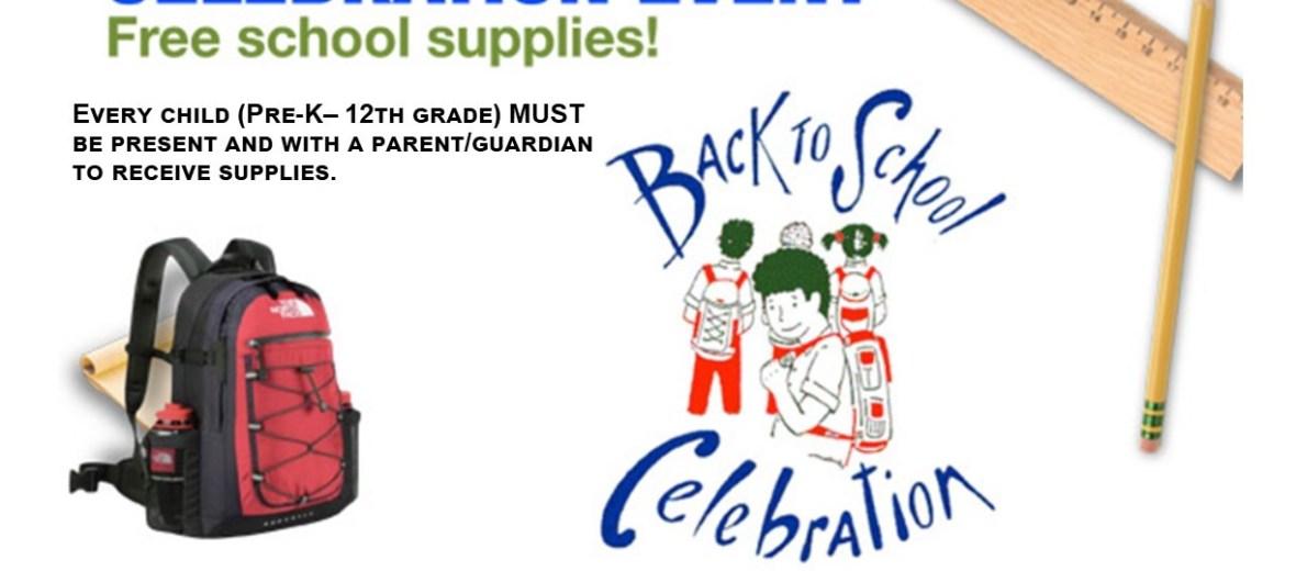 2017 Back To School Celebration