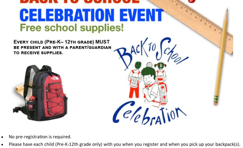 2017 Back To School Celebration