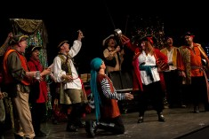 """The cast of """"The Pirates of Penzance"""" perform at the 2015 Community Theatre Coalition Awards show."""