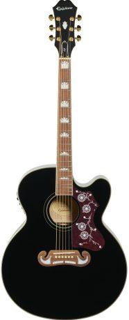 Jumbo Acoustic Guitar Under $500 - Jumbo Guitars For Fingerstyle - Epiphone EJ-200SCE