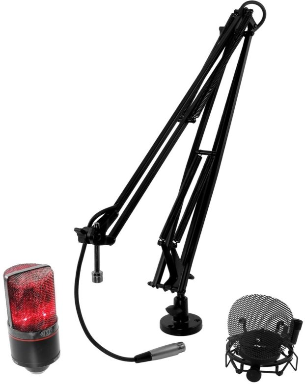 MXL OverStream Bundle with 990 Microphone
