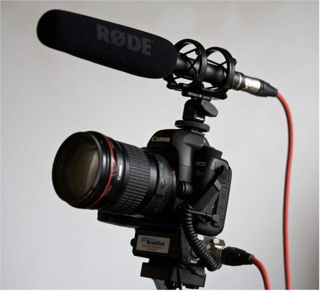 Directional Microphone - Rode NTG2 Shotgun Condenser Microphone