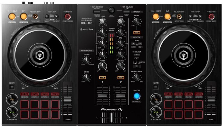 Pioneer DJ DDJ-400 Controller for Rekordbox DJ