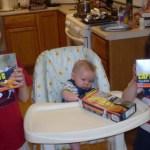 3 Kids and a Seafood Box