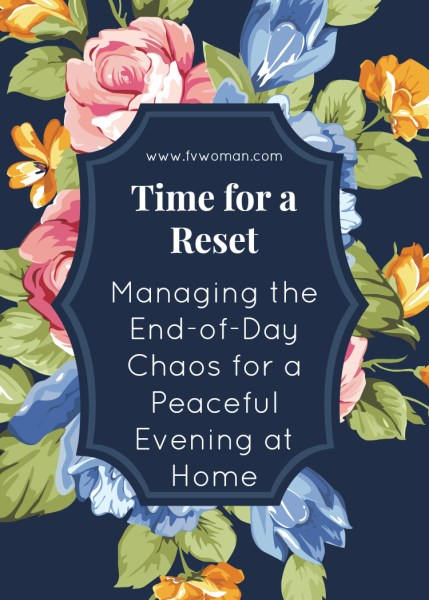 Time for a reset