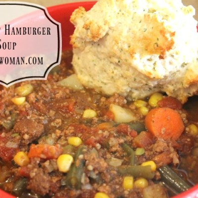 Crockpot Hamburger Soup
