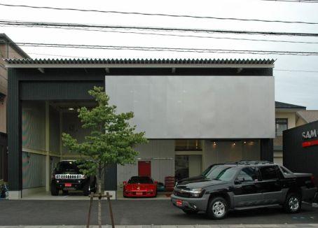 SAM GARAGE 自動車修理工場 中古車販売店 岐阜市
