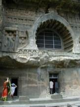 インド アジャンター 石窟遺跡
